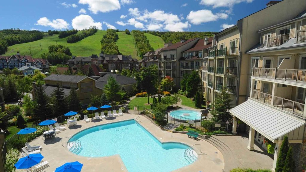 Best places to stay and things to do in Blue Mounatin Village include hanging out at the pool at Seasons at Blue