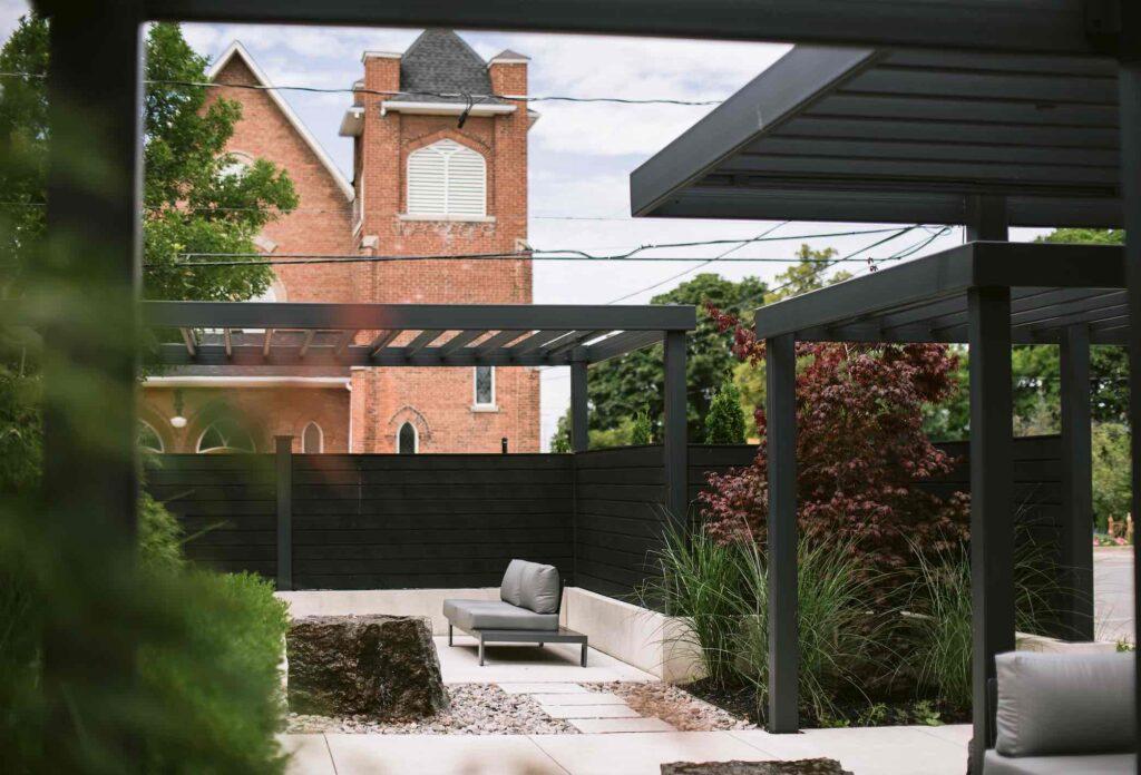 vandermarck-84 Collinwood luxury hotel patio view