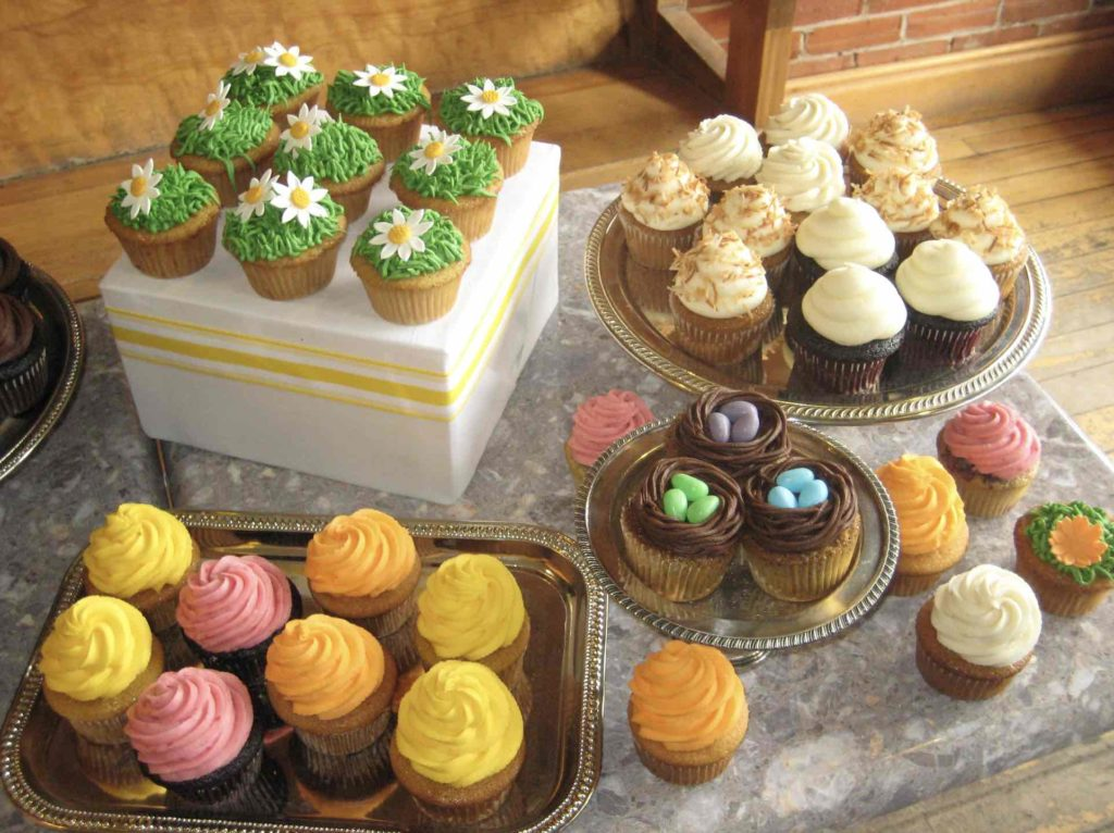 A selection of treats on display at Thornbury Bakery Café one of the top things to do in Thornbury